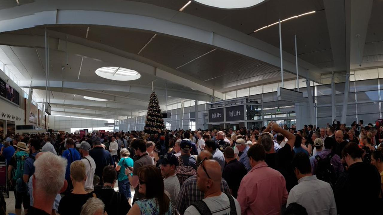 A security screening malfunction has forced Adelaide Airport to be evacuated and hundreds of travellers to be rescreened. Flight delays are expected.