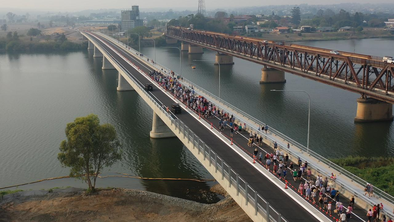 There was a huge turnout for the Grafton Bridge official opening and public walkover on Sunday, 8th December, 2019.