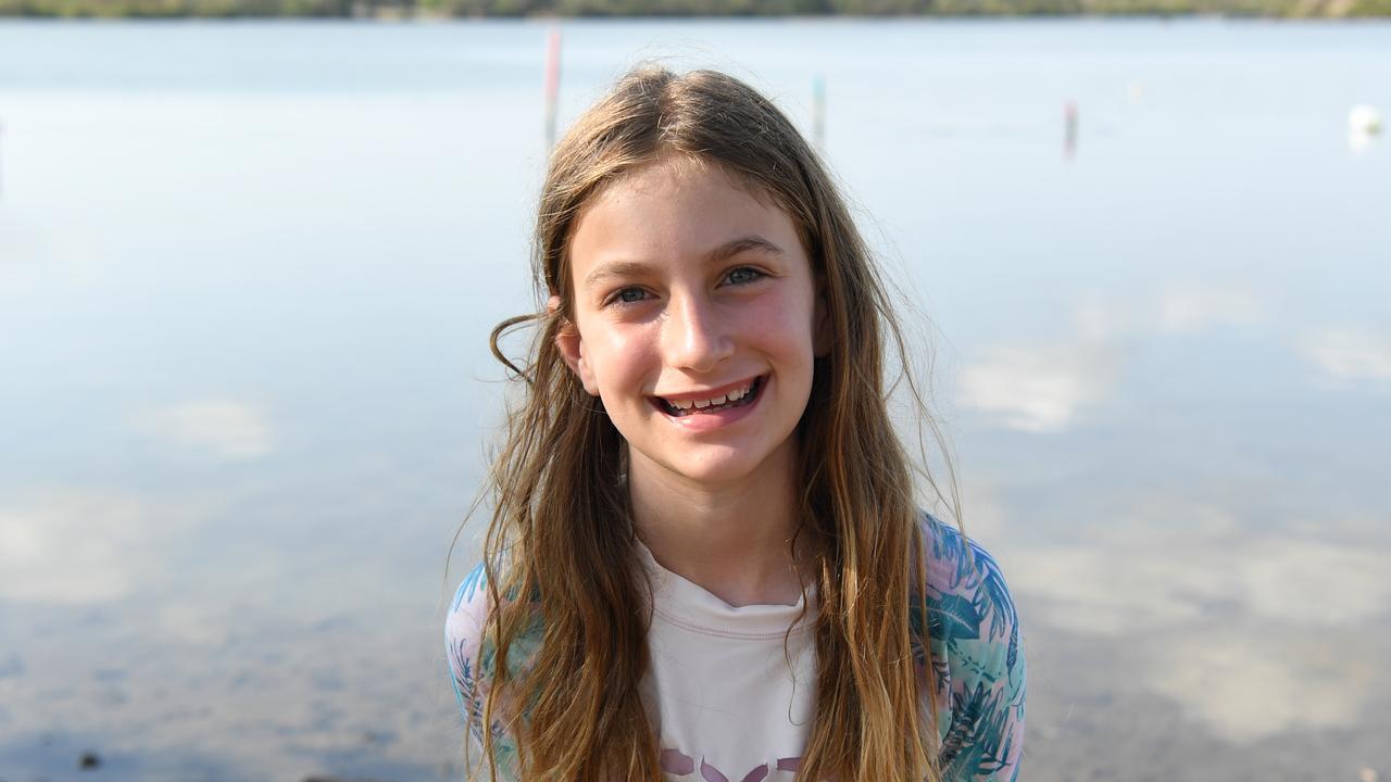 Sarah Littlechild was excited to compete in her first triathlon.