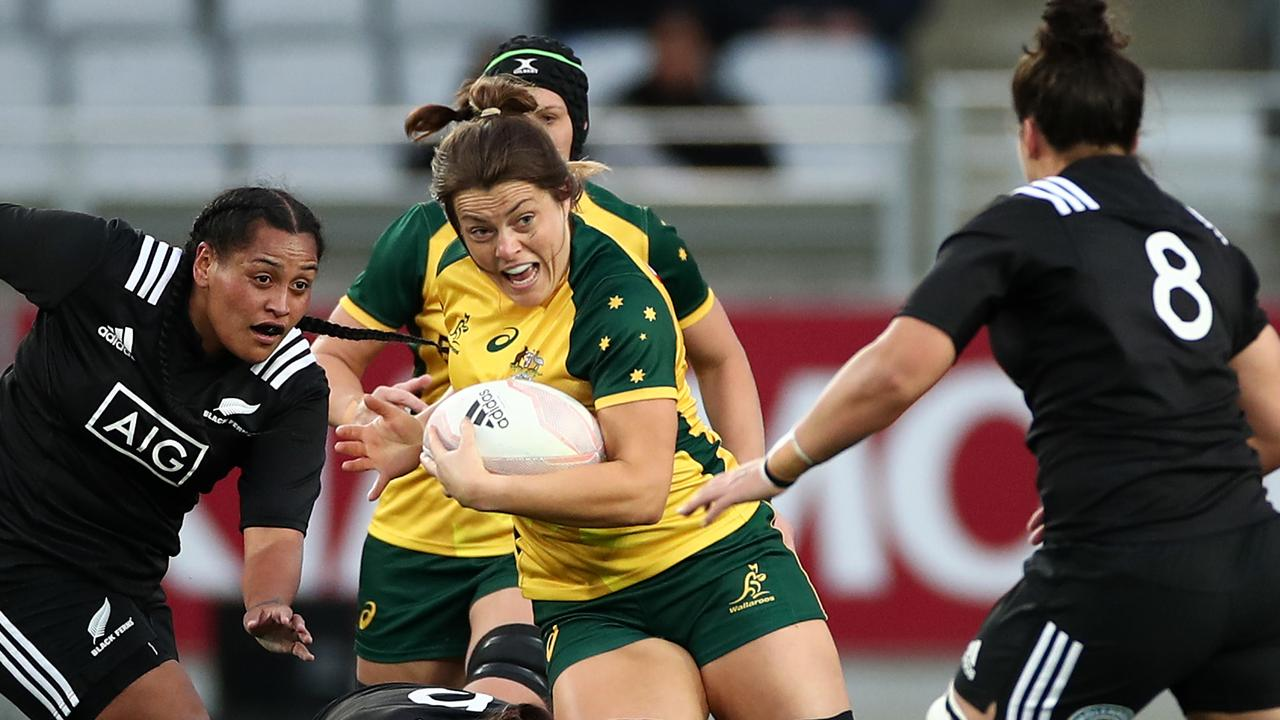 Grace Hamilton made history at the RUPA awards. Picture: Cameron Spencer/Getty
