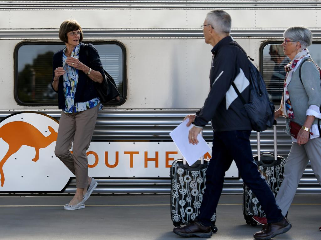 The Great Southern launched this month and is now running between Adelaide and Brisbane.