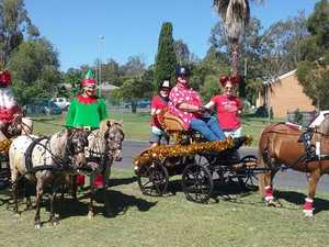 MOVE OVER, RUDOLPH: Equestrian group to deliver gifts