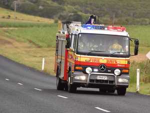Homes under threat as intense bushfire erupts