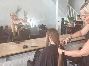Woman donates decade  of hair to help sick kids