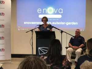 New solar garden for Lismore