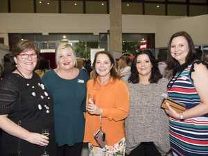 ( From left ) Cathie Joseph, Kristen O'Brien, Claire