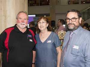( From left ) Lindsay Weber, Noelene Weber and Don