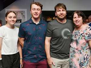 Paige Dodd, 15, Ben Dodd, 17, Ian Dodd and Toni-Maree