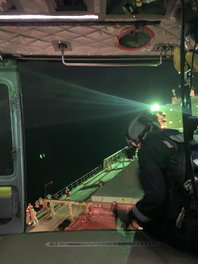 RACQ Capricorn Rescue conducts a late night rescue of Gladstone.