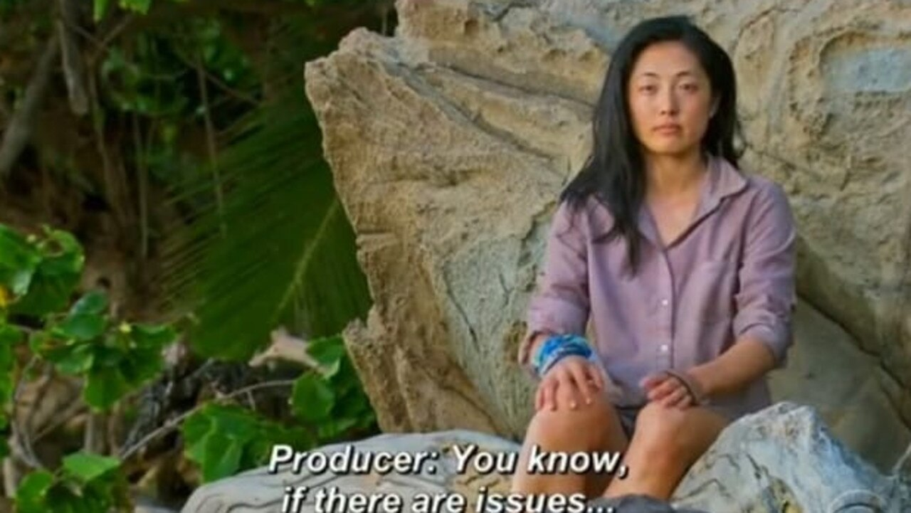 Contestant Kellee Kim was voted off the show after her complaint. Picture: Supplied.