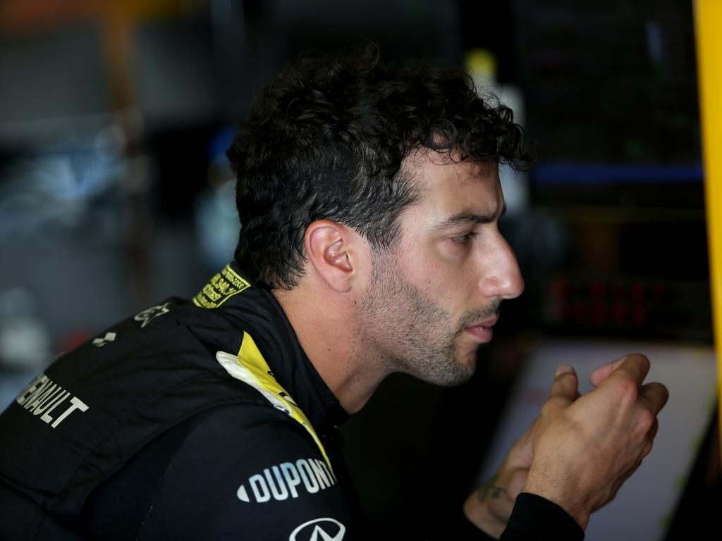 Ricciardo reflected on the Baku crash.