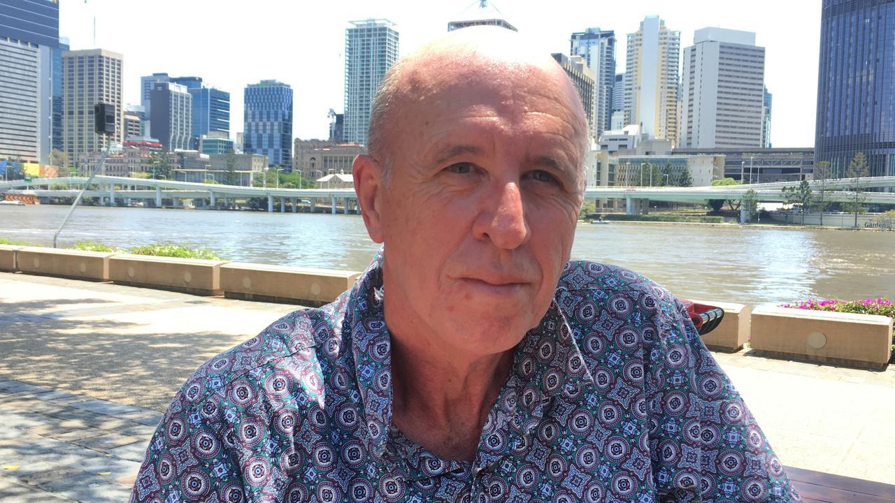 Former Rockhampton radio host Jeff Goodwin has been caught up in the New Zealand volcano disaster.