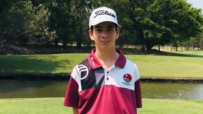 Golf 'shark' follows heroes' footsteps