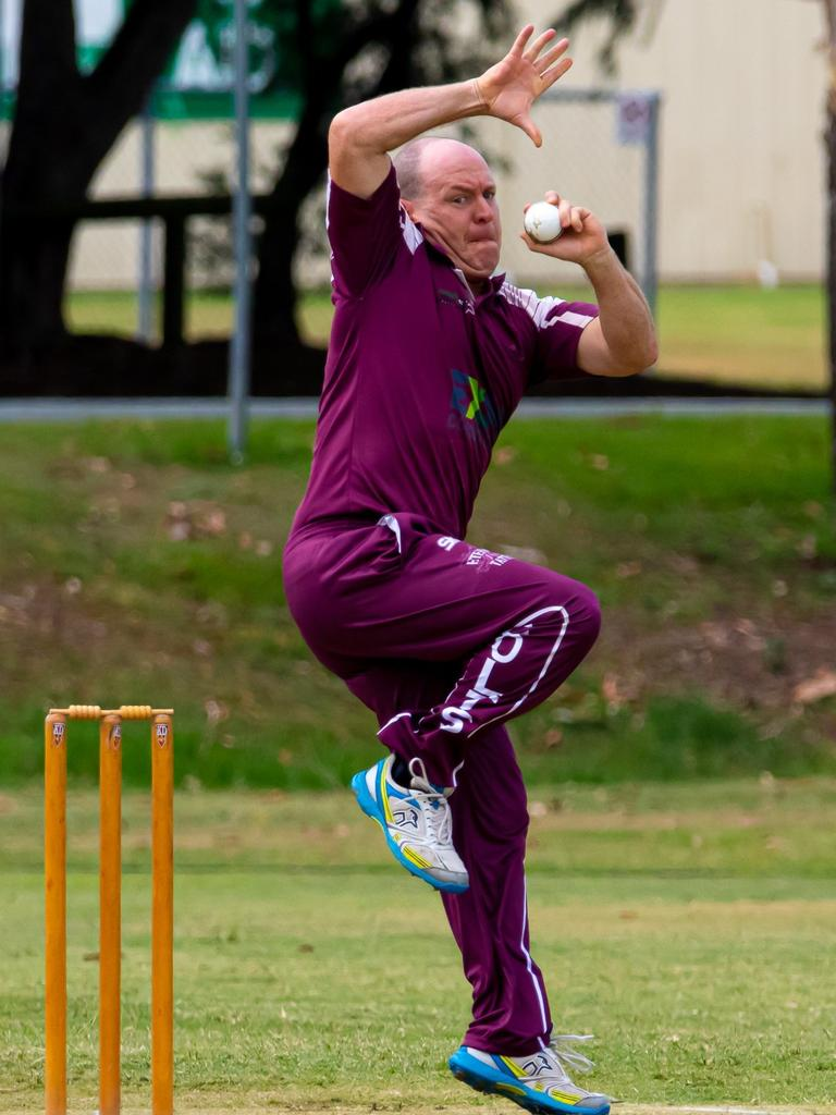 Gympie Regional Cricket Association – Colts spinner Andrew 'Chappy' Mallett.