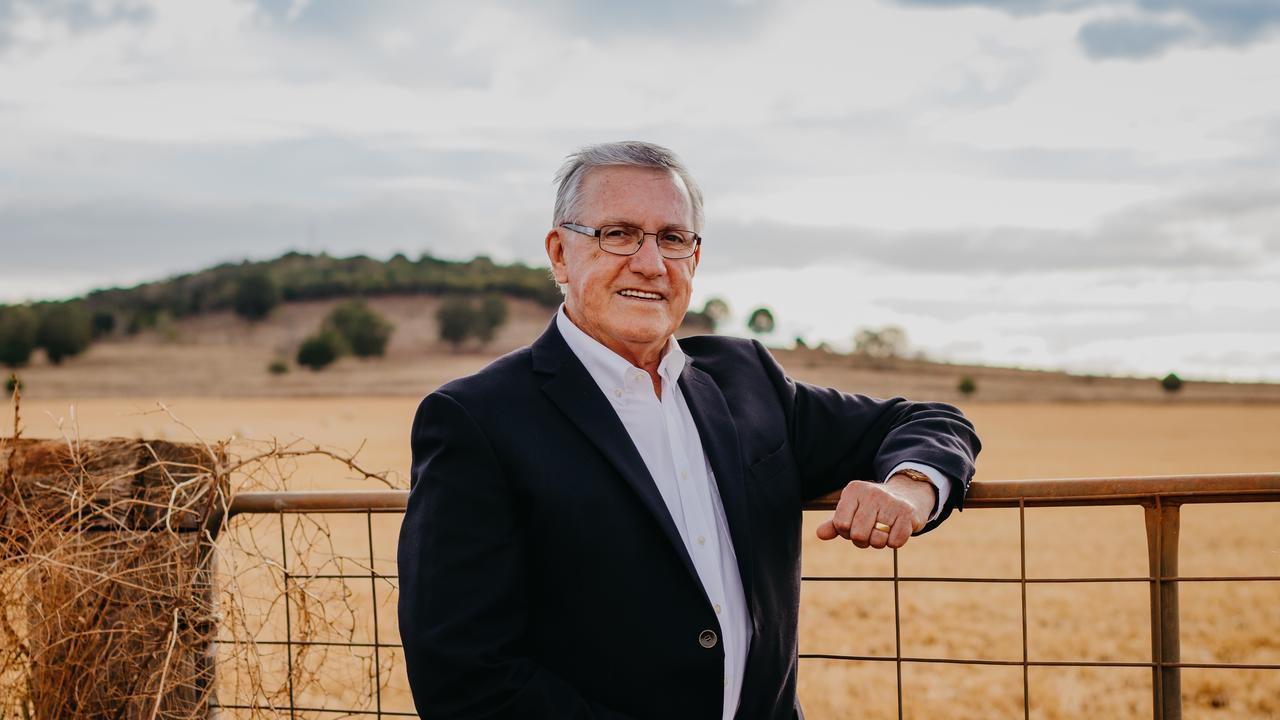 ANNOUNCEMENT: Mayor Keith Campbell says he will run in the 2020 South Burnett Council election.