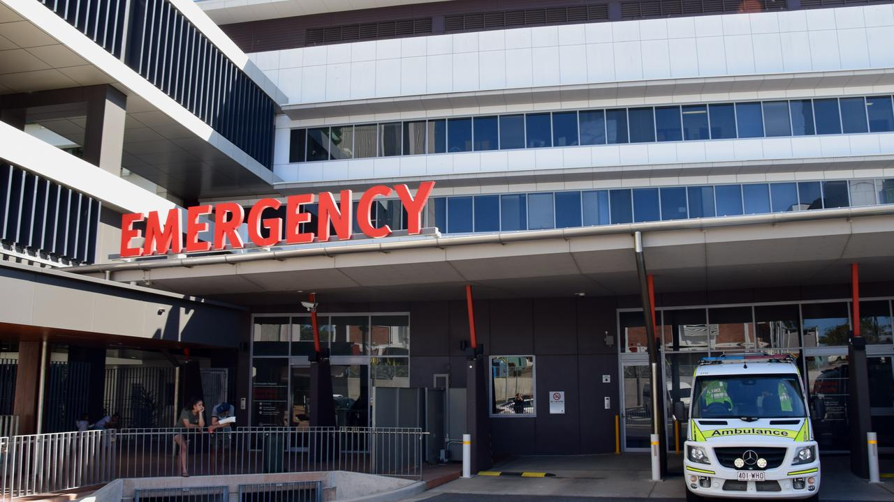 Georgia Ann Newcombe caused a ruckus at Rockhampton Hospital's emergency department.