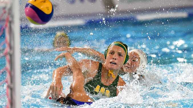 High-level water polo tournament at Alstonville pool