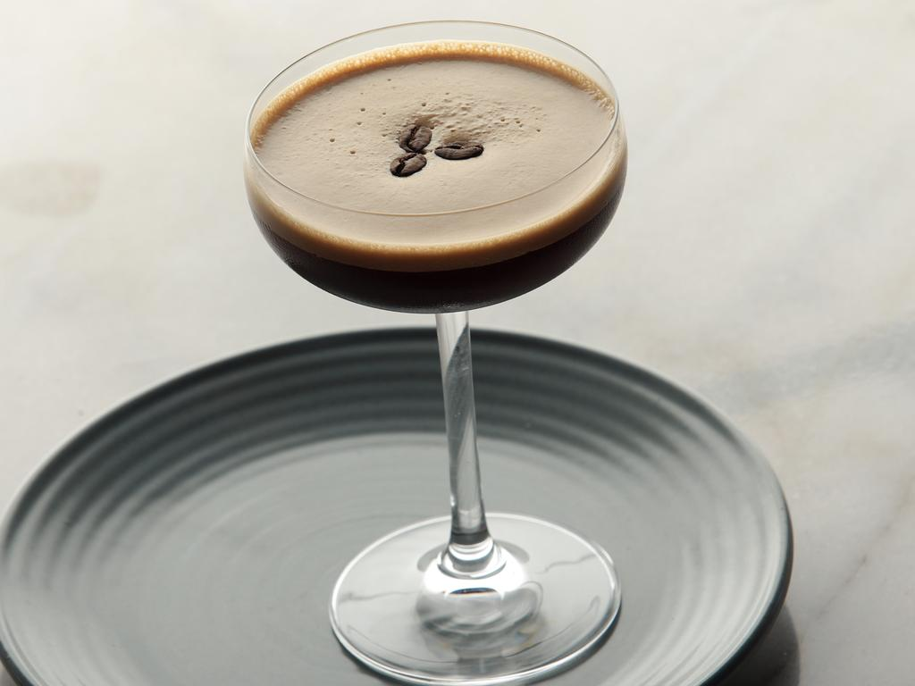 Espresso Martinis might look tempting, but they will do your future hangover no favours. Picture: John Fotiadis