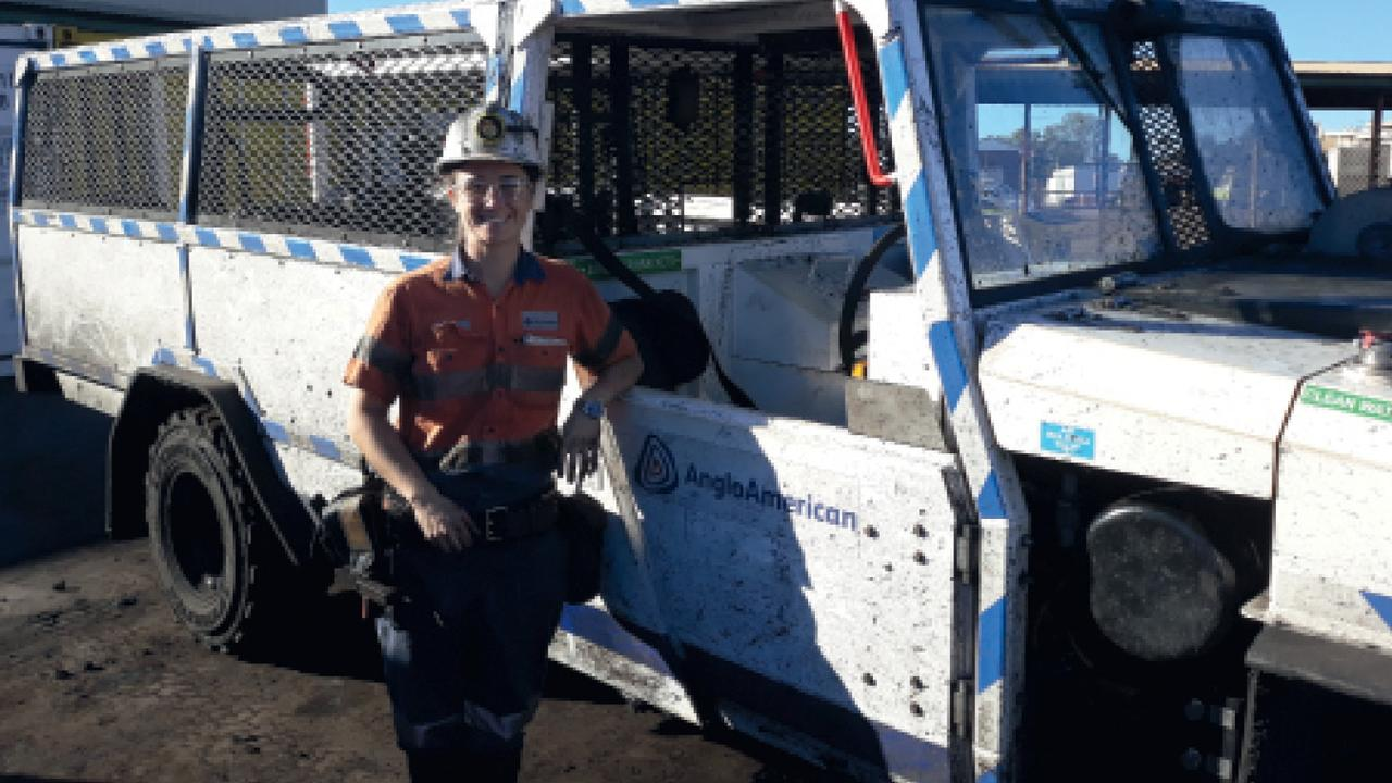 STATE FIRST: Sarah Coughlan from Grosvenor mine becomes Queensland's first female deputy