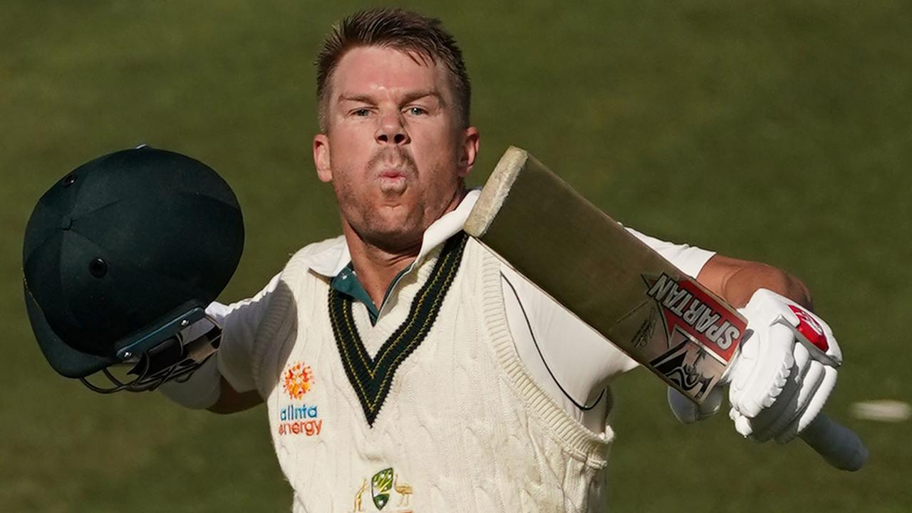 David Warner is back with a vengeance. Picture: AAP