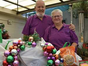 Purple Dove sharing Christmas spirit one hamper at a time