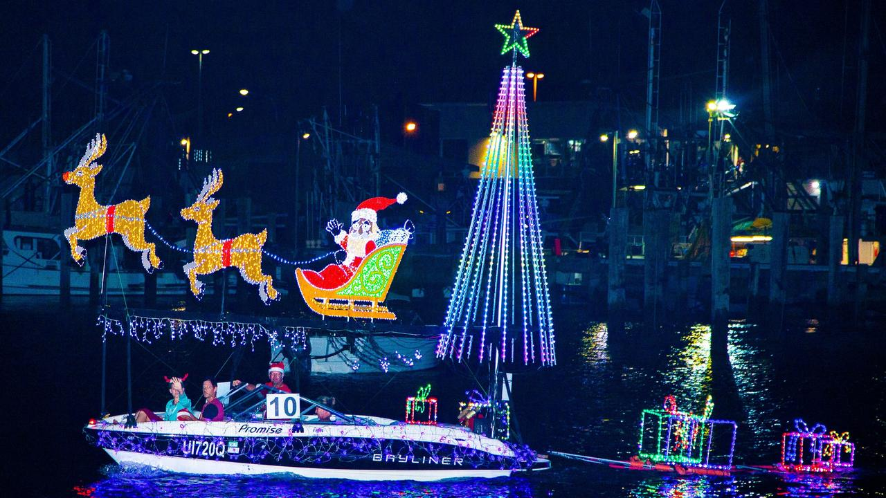 The Mooloolaba Yacht Club Christmas Boat Parade is always a colourful spectacle. Picture: Contributed