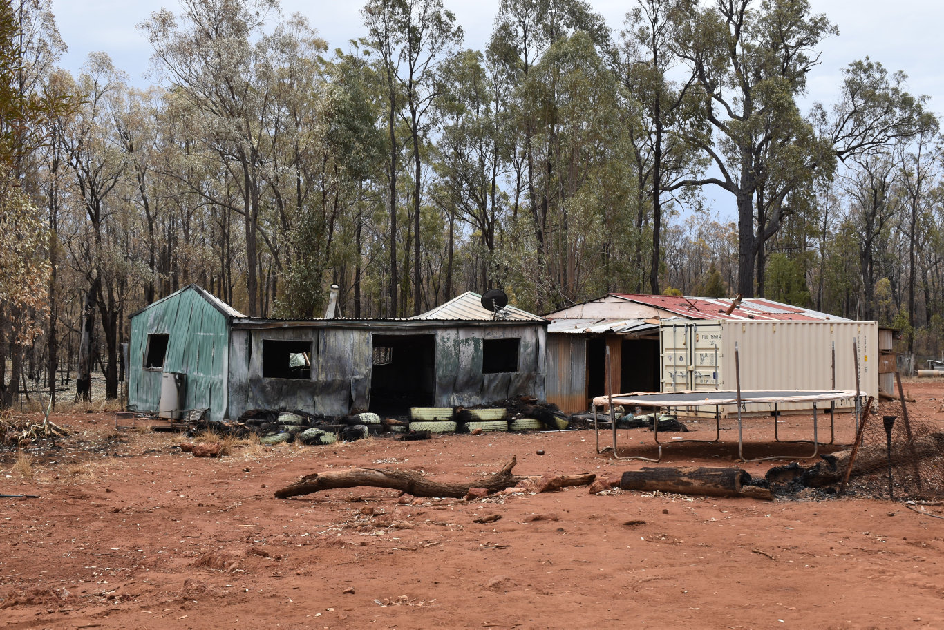 A home at Koala Dr, Cypress Gardens, was destroyed by fire Thursday night.