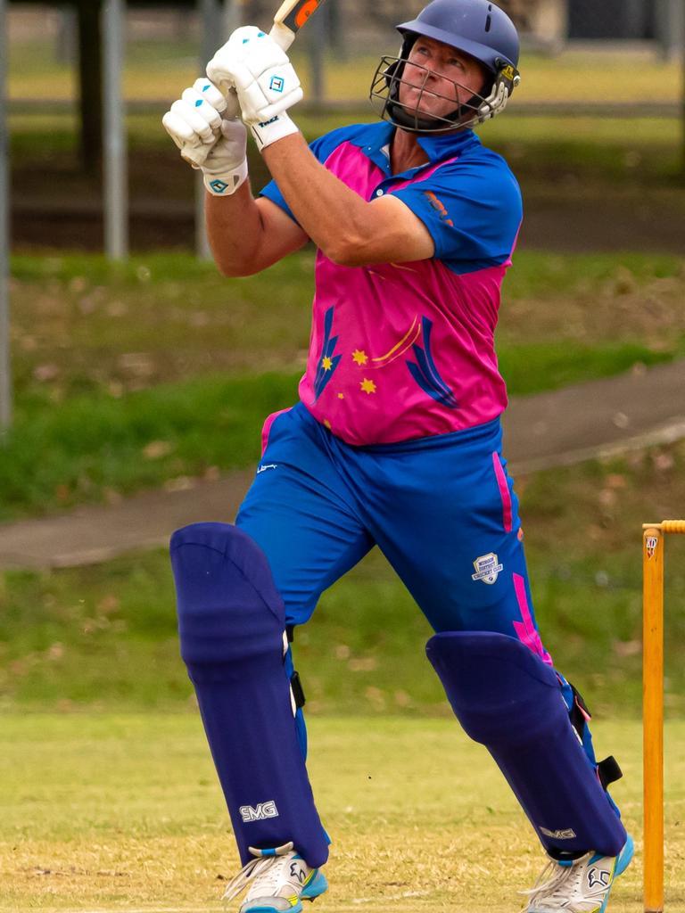 Gympie Regional Cricket Association - Colts v Murgon - Murgon all-rounder Ashley Sippel.