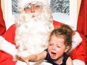 Hilarious photos show Santa picture fails