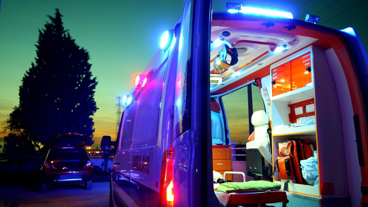 A man has been hospitalised with seriouse burns following an explosion in Darwin on Thursday night.
