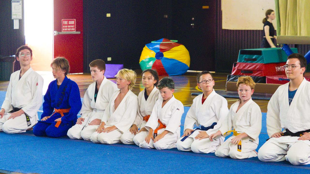 JUDO AWARDS: The Lismore PCYC Judo Club gave a demonstration of their skills at the recent awards presentation for 2019.