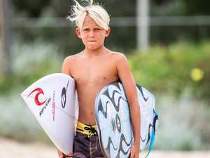 Ripcurl backs four young Coast surfers