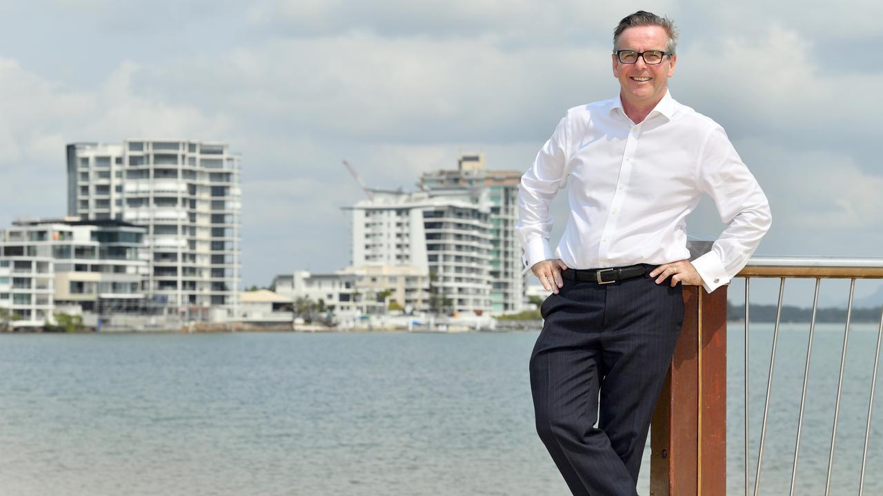 Brendan Bathersby, Maroochydore Chamber of Commerce President. Photo: John McCutcheon/Sunshine Coast Daily
