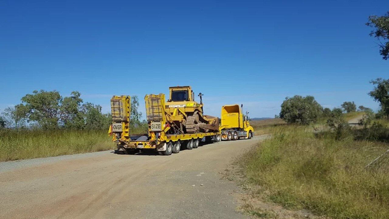 Calibre Earthmoving & Environment has heavy equipment in action at the Shoalwater Bay since September.