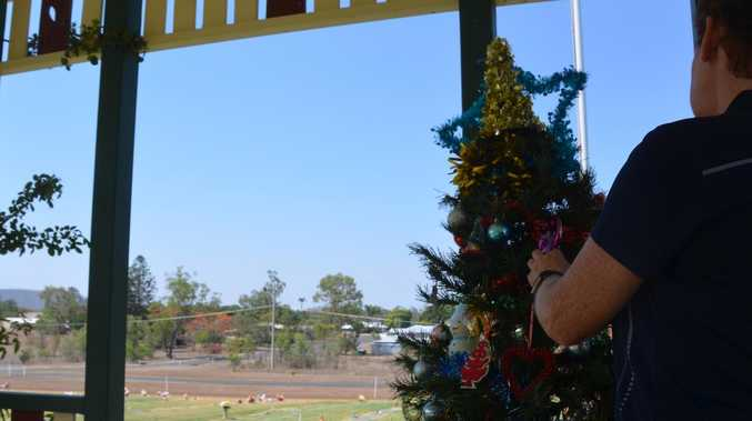 Touching Christmas tribute in local cemetery
