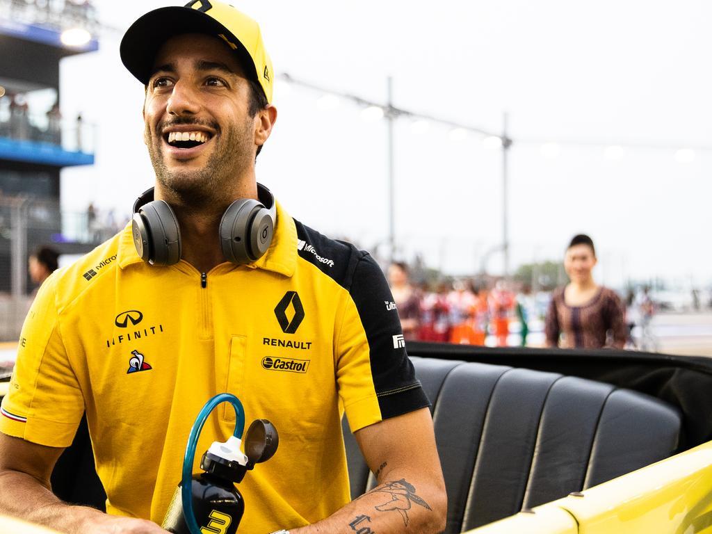 Ricciardo has felt a renewed sense of hope despite his worst season in years.
