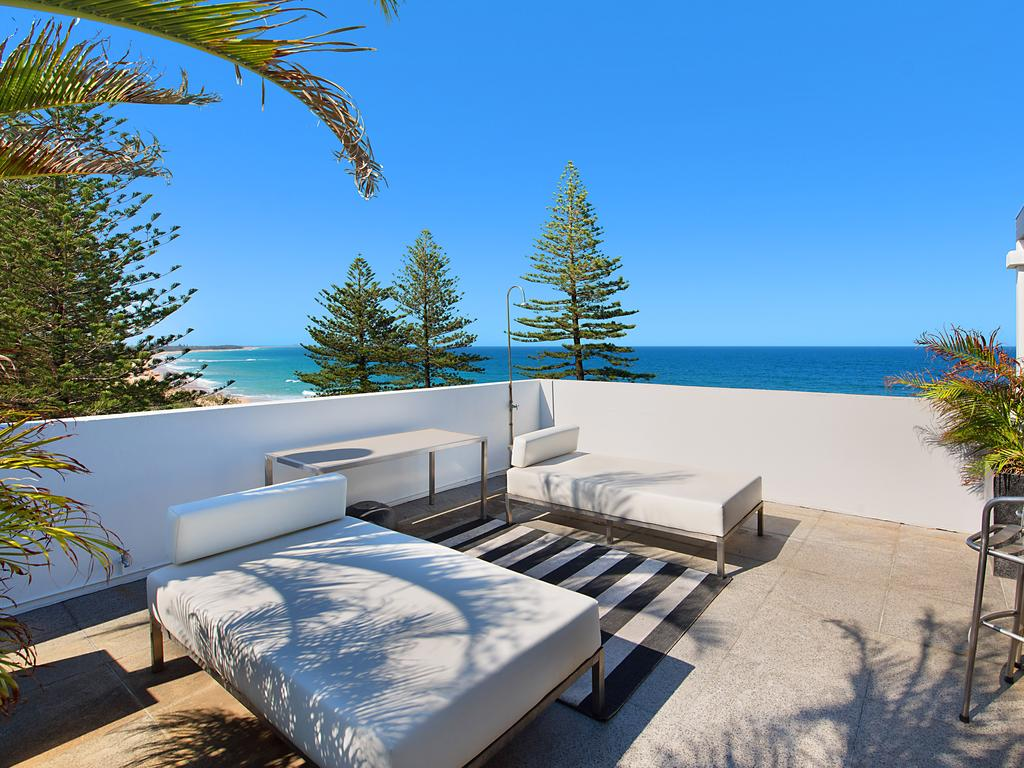 A multi-million-dollar townhouse is tipped to break the record sale price for Caloundra.