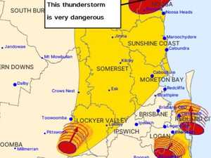 ALERT: storm warning issued for Lockyer Valley and surrounds