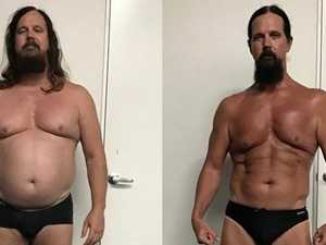 Father's inspiring 20kg weight drop in just eight weeks