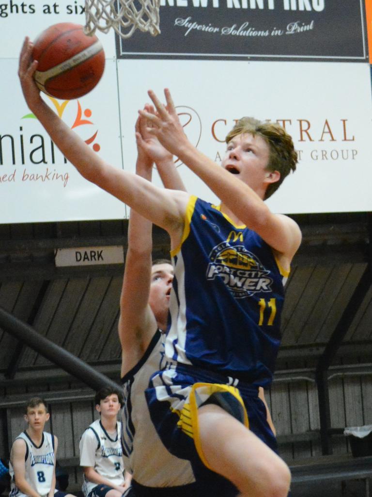 Ben Knight - U18 Gladstone forward. PICTURE: Nick Kossatch