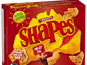 New Aussie twist on Arnott's Shapes flavours