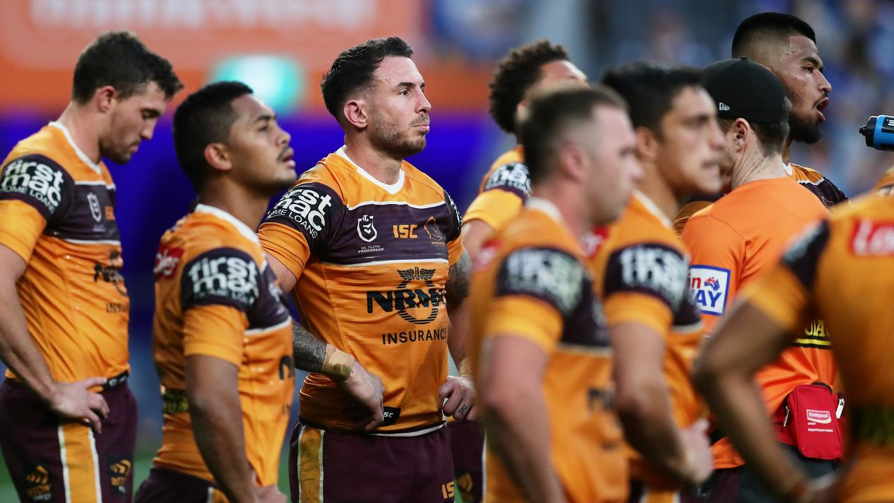 BIG GUNS: The Brisbane Broncos will play the CQ Capras in a trial game in Rockhampton in February. Picture: Matt King/Getty Images