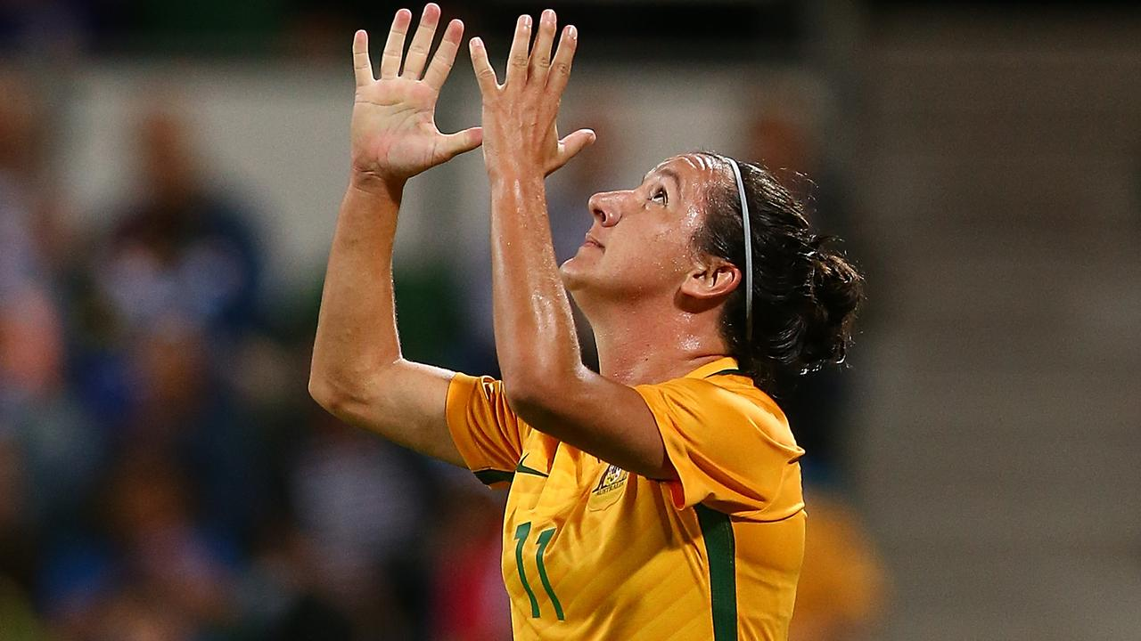 Lisa De Vanna is not entirely out of the Matildas picture.