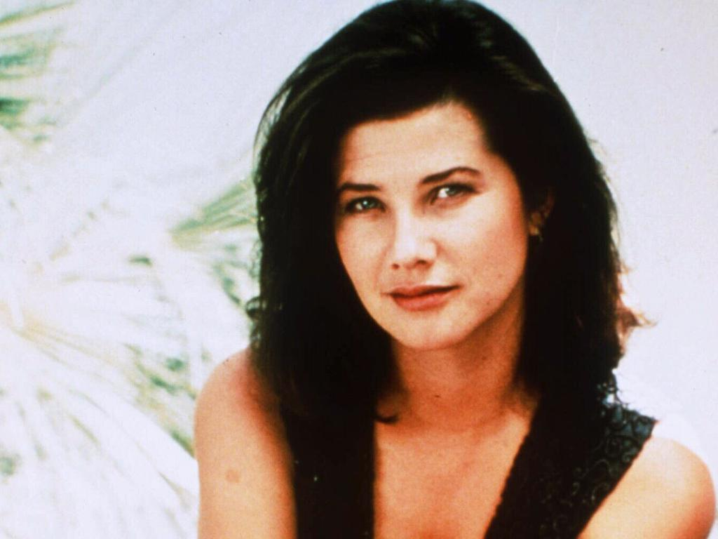 Melrose Place actor Daphne Zuniga as Jo Reynolds. Picture: Supplied