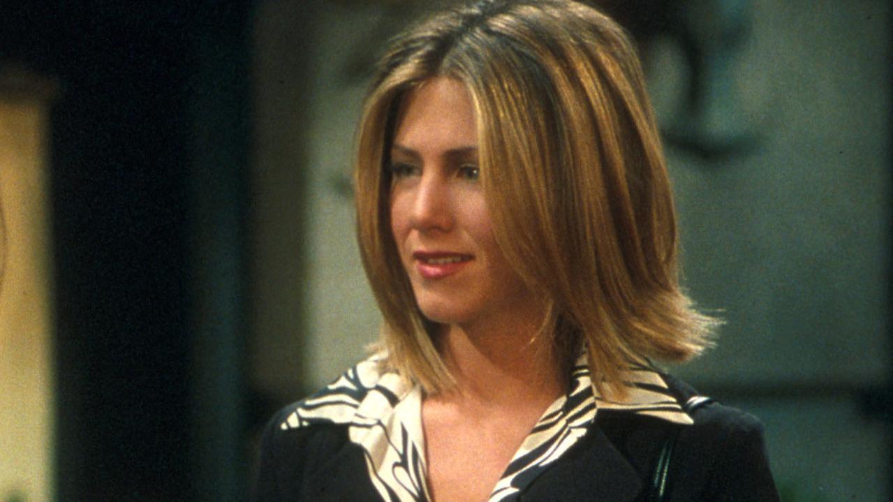 Jennifer Aniston in a scene from Friends.