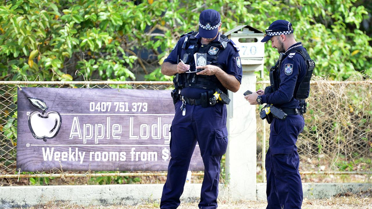 Police have revealed the woman who died at Apple Lodge in South Townsville is a 36-year-old woman from Cosgrove. PICTURE: MATT TAYLOR.