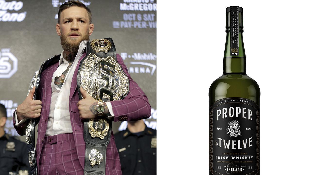 Conor McGregor's Irish Whiskey.