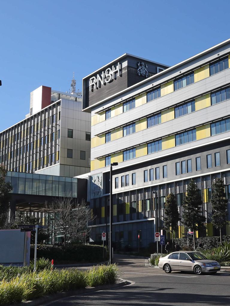 Royal North Shore Hospital in Artarmon. Picture: Richard Dobson