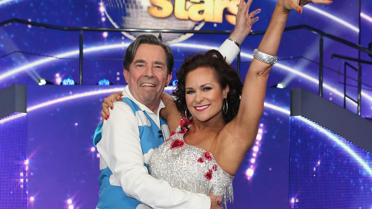 Giselle Peacock, on Dancing With the Stars with John Paul Young, doesn't want to see the 'Dance Mom' approach adopted in Australian dance schools. Picture: Julie Kiriacoudis