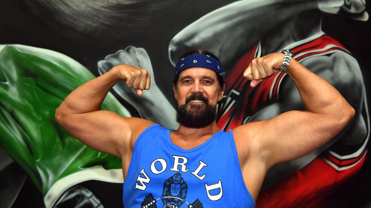 Carl Voller at Maroochydore's World Gym. Photo: John McCutcheon